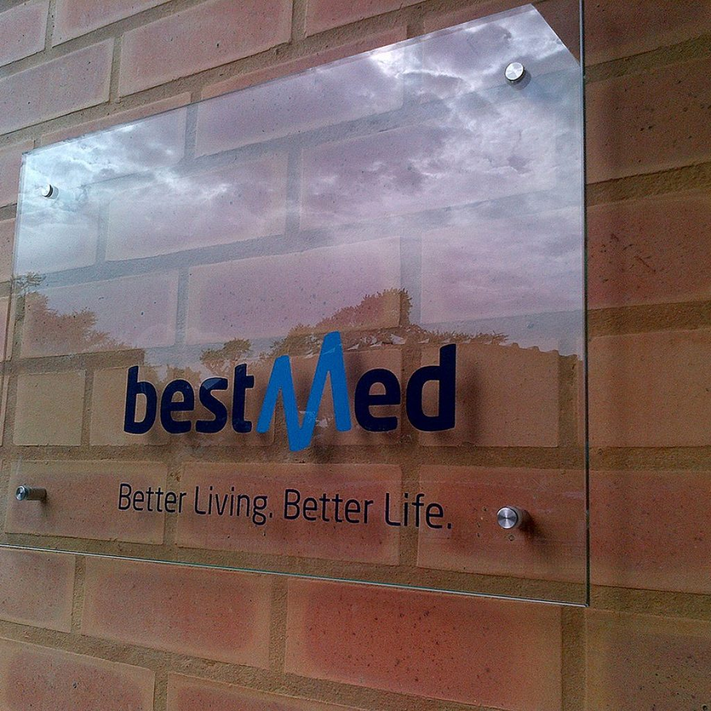 Best Med | Signage Production Studio | SPS BestMed x
