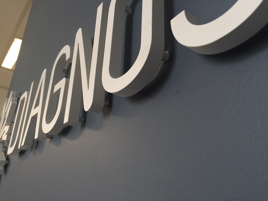 Our Work | Signage Production Studio | SPS Diagnostech x