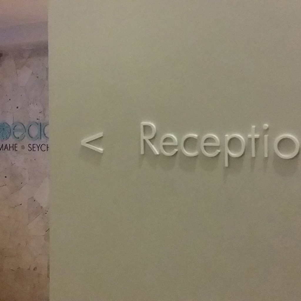 Carana Beach Hotel | Seychelles | Signage Production Studio | SPSCaranaBeach x