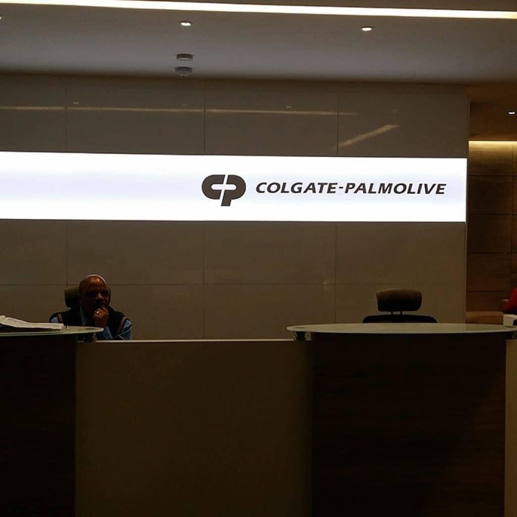 Colgate   Signage Production Studio   SPSColgate x