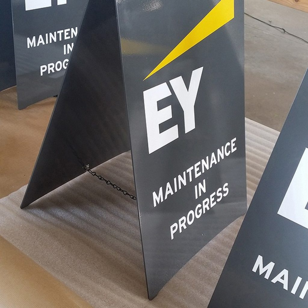 EY Head Office | Sandton | Signage Production Studio | SPSEY x